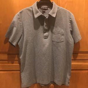 Michael Kors Men's, Grey, Cotton Polo Shirt